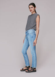 Stretch Sculpted Skinny Jean