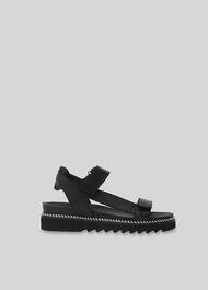 Noah Sporty Velcro Sandal Black