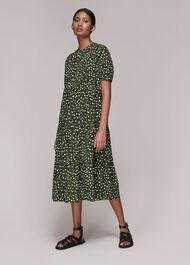 Wild Leopard Trapeze Dress