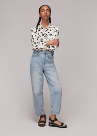 Leopard Print Soki Shirt