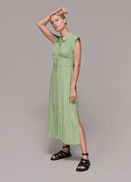 Shooting Floral Midi Dress