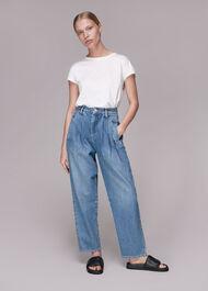 Authentic Pleat Front Jean