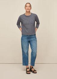 Cotton Pocket Stripe Top