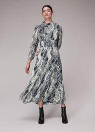 Flowing Tiger Joan Dress