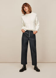 Leather Stretch Trouser