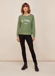 Je Taime Logo Sweatshirt