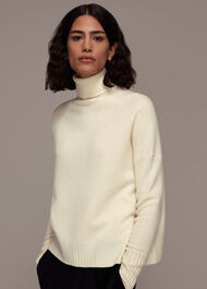 Roll Neck Wool Knit
