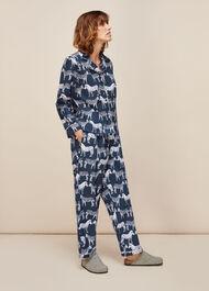Zebra Print Cotton Pyjama Set