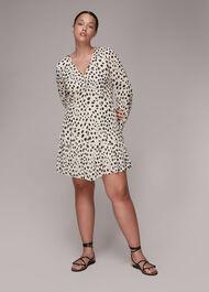 Lucie Dalmation Print Dress
