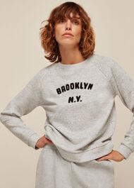 Brooklyn Logo Sweatshirt