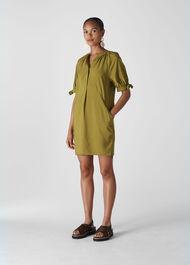 Celestine Dress Olive
