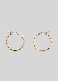 Classic Hoop Earring Gold