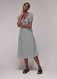 Gingham Check Elouise Dress