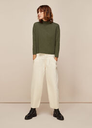 High Neck Relaxed Top
